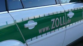 Dienstfahrzeug des Zolls